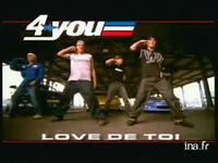4 you : Single love de toi   FUN version 10 secondes