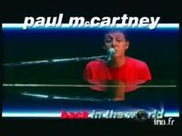 Paul mc Cartney : Back in the world version 21 secondes