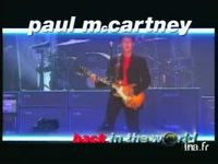 Paul mc Cartney : Back in the world version 13 secondes