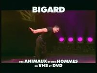 Jean Marie Bigard : Des animaux - multichaine version 13 secondes