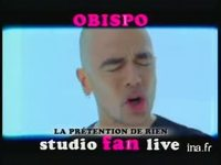Pascal Obispo : Live fan version 21 secondes