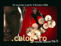 Calogéro : Album + single face a la mer version 21 secondes