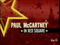 Paul mc Cartney : live in red square - dvd