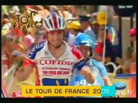 Tour de France : 2005 version 15 secondes