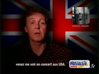 Nostalgie : Mc Cartney demain version 20 secondes