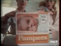 PAMPERS : Couches culottes