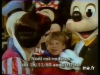 EURO DISNEY RESORT : PARC D'ATTRACTIONS DISNEY PROMOTION NOEL