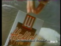 LU HELLO : BISCUIT CHOCOLAT COOKIES & MINI