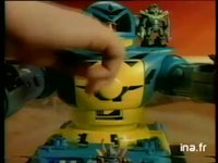MICRO MACHINES ZBOTS / IDEAL LOISIRS : JOUET ROBOT GAMME