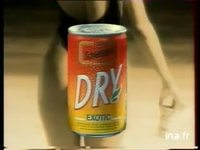 SCHWEPPES DRY : BOISSON GAZEUSE AROMATISEE EXOTIQUE SODA