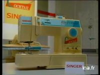 SINGER : MACHINE A COUDRE A TRICOTER ROBOT MENAGER GAMME
