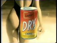 SCHWEPPES DRY : BOISSON GAZEUSE AROMATISEE FRUITS EXOTIQUES SODA