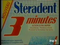 STERADENT : COMPRIME ENTRETIEN PROTHESE DENTAIRE