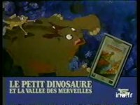 VIDEO CLUB LE PETIT DINOSAURE : CASSETTE VIDEO ENREGISTREE DESSIN ANIME