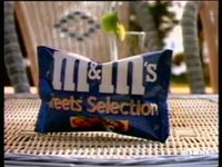M&M'S TREETS SELECTION : BONBON PASTILLE CACAHUETE CHOCOLAT