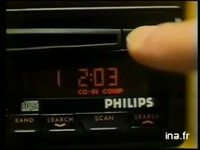 PHILIPS CAR STEREO : LECTEUR DISQUE COMPACT AUTO