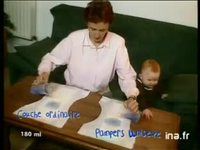 Pampers extra unisex : Chrystel et Manon version 25 secondes