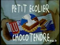 Petit écolier de Lu choco tendre : Choco tendre version 10 secondes