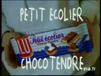 Petit Ecolier de Lu choco tendre : Choco tendre version 10 secondes