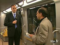 Inauguration officielle du métro VAL
