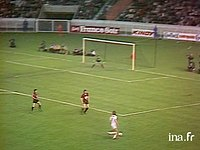 Finale de la Coupe de France Nancy - Nice 13 mai 1978