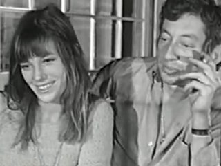 Jane Birkin couple