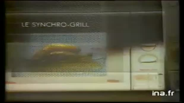 Moulinex Synchro Grill Four Micro Ondes 1100 Watt